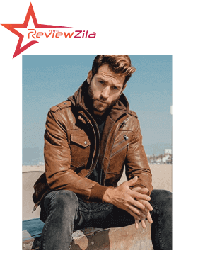 Brown Motorcycle Jackets For Men